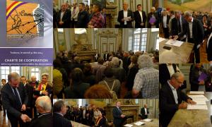 Signature charte Caminar 31 mai 2014 Toulouse
