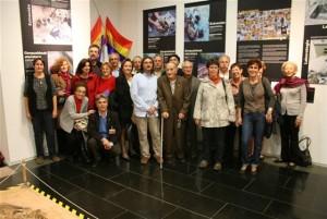 Photo membres d'Ay Carmela à Pessac en 2011