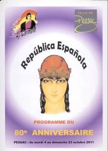 Programme Pessac